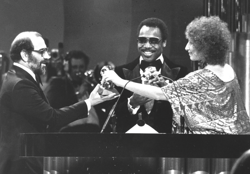 LiPuma winning a Grammy in 1977