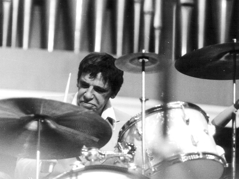 """Buddy Rich """"The Lost Tapes"""" now available on CD and vinyl"""