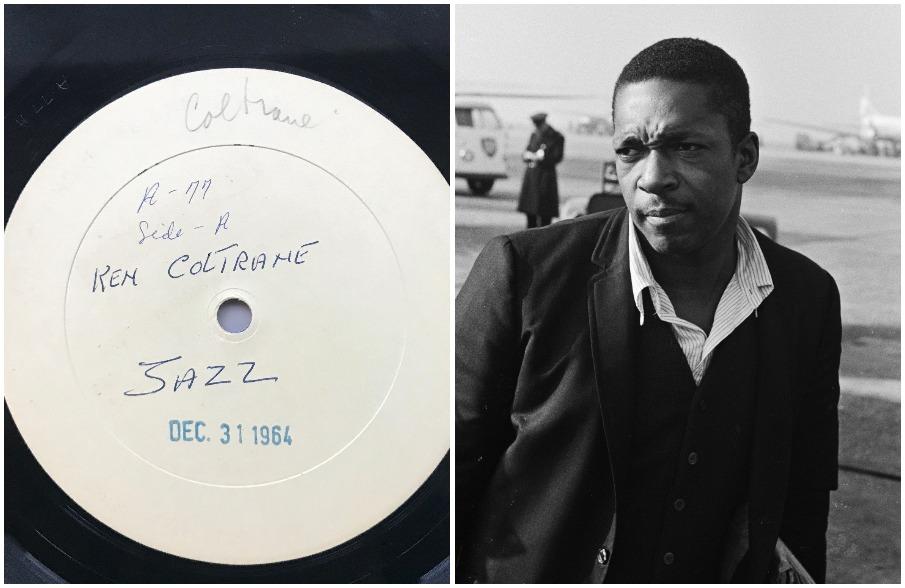 Mono test pressing of John Coltrane's iconic album for sale on eBay