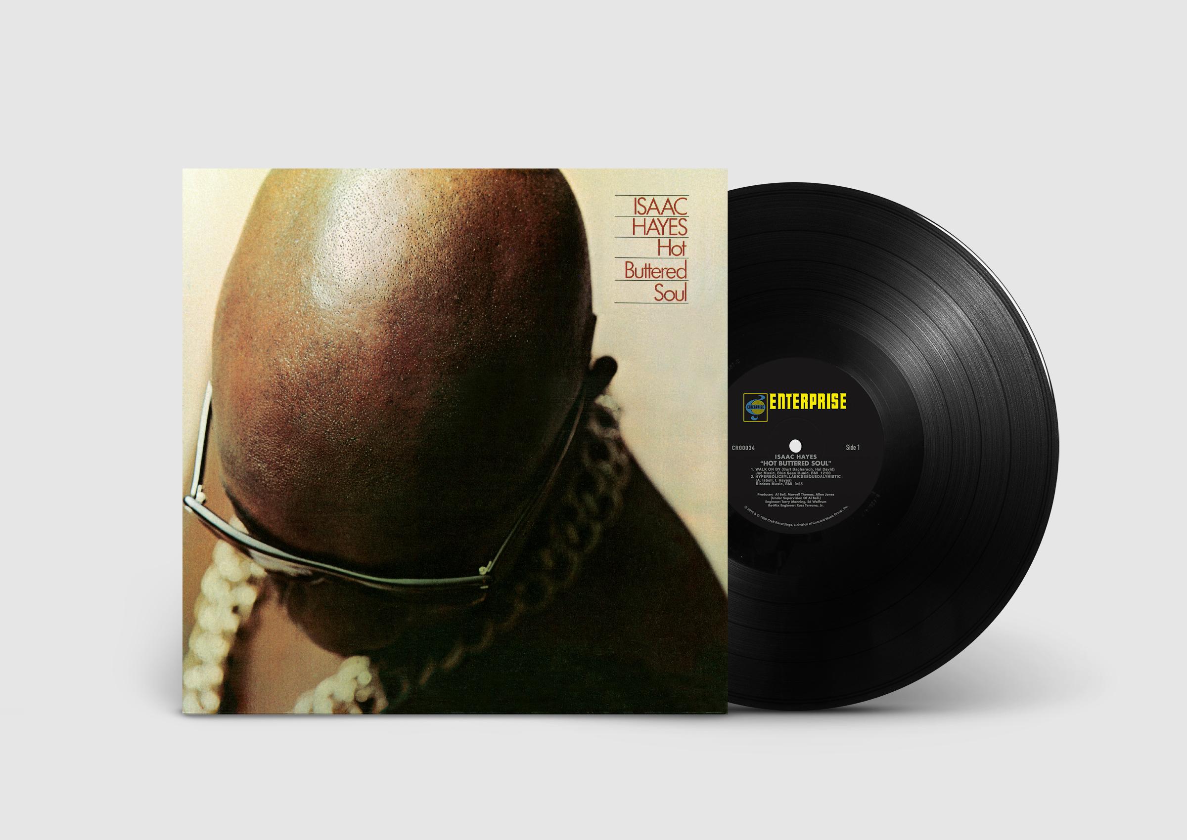 Three landmark Isaac Hayes albums reissued on vinyl