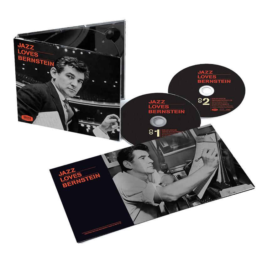 New Verve two-disc collection commemorates Leonard Bernstein's centennial