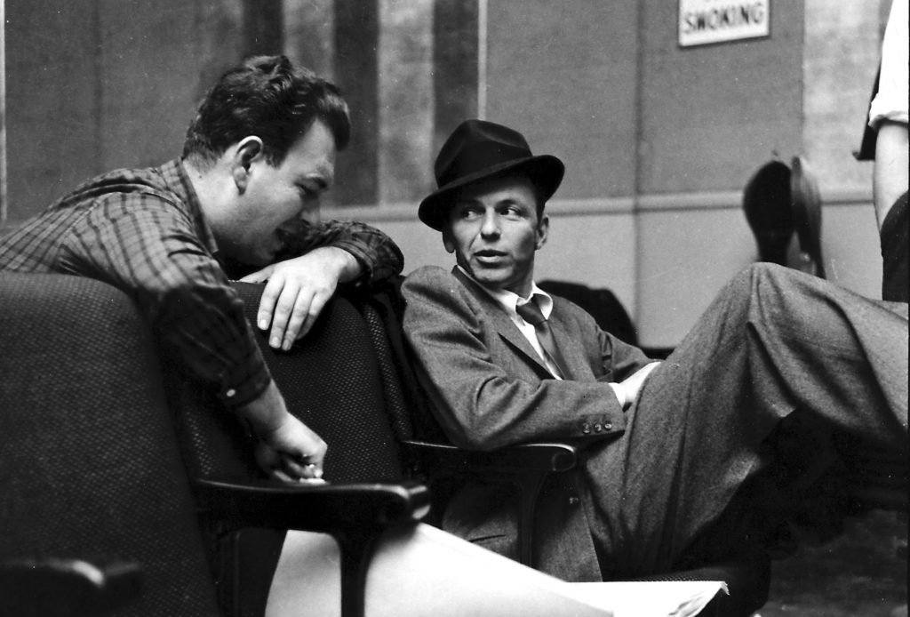 Image result for sinatra and nelson riddle