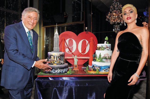 Vocalist Tony Bennett Celebrated His 90th Birthday On August 3 The Celebrations Will Continue With Release Of Celebrates