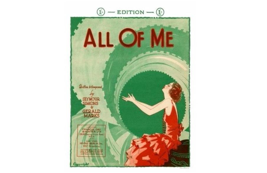 A Short History Ofall Of Me Gerald Marks Seymour Simons 1931