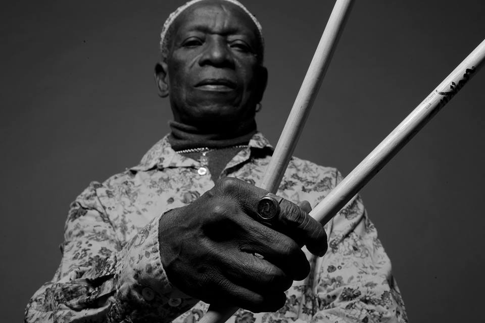 "Listen to Tony Allen's new single ""On Fire"""