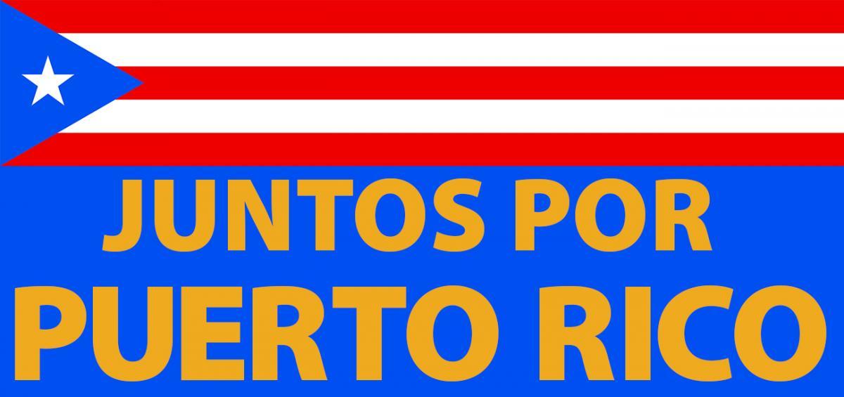 Juntos Por Puerto Rico Logo