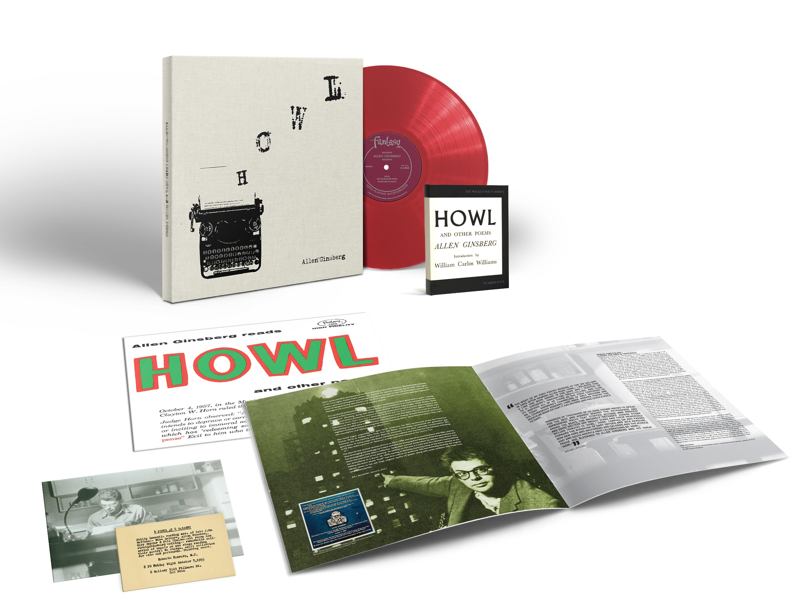 "Allen Ginsberg's landmark ""Howl and Other Poems"" receives deluxe vinyl treatment"