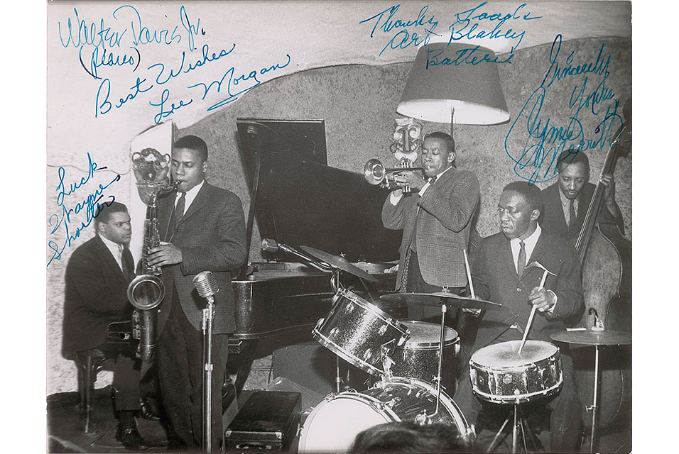 Jazz Messenger signed photo tops $20,000 at auction