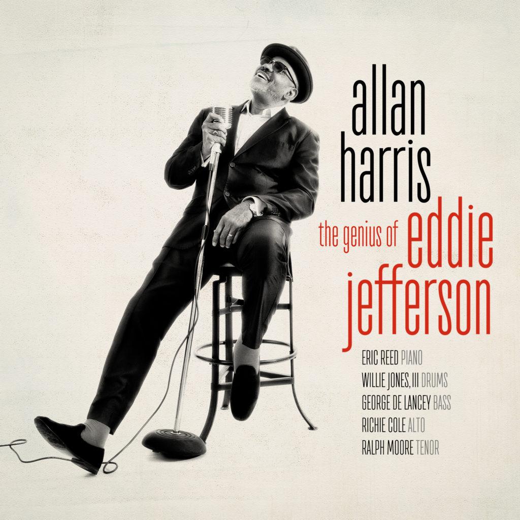"""Singer Allan Harris plunges into the world of bebop trailblazer Eddie Jefferson on his latest album, """"The Genius of Eddie Jefferson."""""""